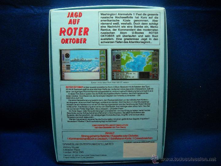 Videojuegos y Consolas: JUEGO JAD AUF ROTER OKTOBER AMIGA PC - Foto 2 - 47838901