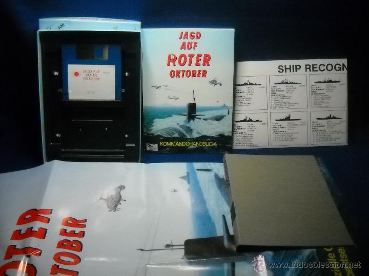 Videojuegos y Consolas: JUEGO JAD AUF ROTER OKTOBER AMIGA PC - Foto 3 - 47838901