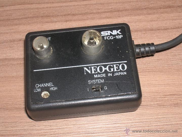 Videojuegos y Consolas: Cable de Antena Original Consola NEO GEO AES SNK - Foto 2 - 65929803