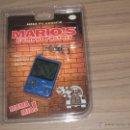 Videojuegos y Consolas: MARIO'S CEMENT FACTORY GAME WATCH MINI CLASSICS NUEVA A ESTRENAR CON BLISTER CON PILAS INCLUIDAS. Lote 144728958
