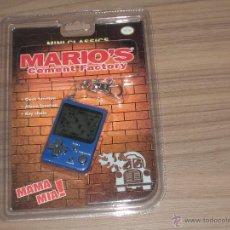 Videojuegos y Consolas: MARIO'S CEMENT FACTORY GAME WATCH MINI CLASSICS NUEVA A ESTRENAR CON BLISTER CON PILAS INCLUIDAS. Lote 191884175