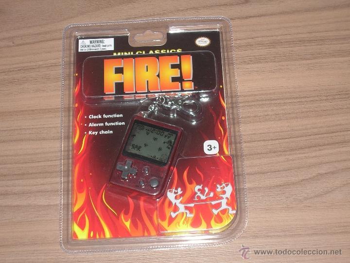 FIRE GAME WATCH MINI CLASSICS NUEVA A ESTRENAR CON BLISTER CON PILAS INCLUIDAS (Juguetes - Videojuegos y Consolas - Otros descatalogados)