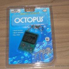 Videojuegos y Consolas: OCTOPUS GAME WATCH MINI CLASSICS NUEVA A ESTRENAR CON BLISTER CON PILAS INCLUIDAS. Lote 144720273
