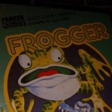 Videospiele und Konsolen - Antiguo Video Juego FROGGER para VIDEOPAC COMPUTER de PHILIPS NUEVO PRECINTADO DE PARKER - 58089147