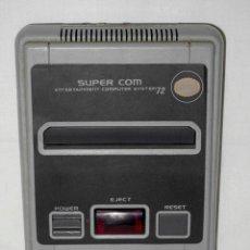 Videojuegos y Consolas: VIDEOCONSOLA PARA JUEGO ELECTRÓNICO SUPER COM ENTERTAINMENT COMPUTER SYSTEM 72 NEW HOME. AÑOS 90. Lote 48845629