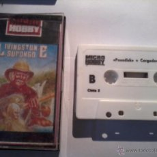 Videojuegos y Consolas: MICRO HOBBY 18. CARA. A. LIVINGSTONE. SUPONGO. BY OPERA CARA B. PASADISK, Y CARGADORES.. Lote 49193163