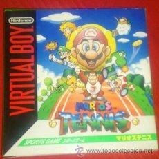 Videojuegos y Consolas: MARIO TENNIS - VIRTUAL BOY. Lote 275952848