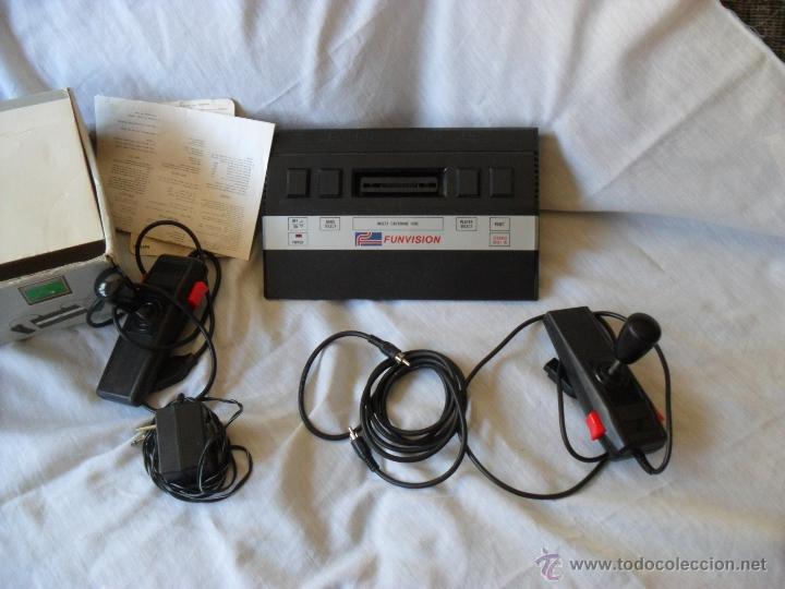 Videojuegos y Consolas: videoconsola funvision,rara,funcionando y completa - Foto 2 - 49528481