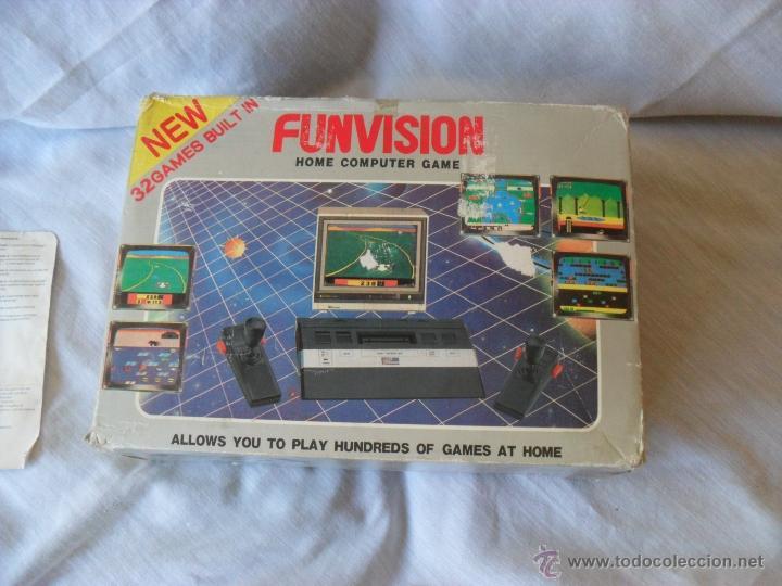 Videojuegos y Consolas: videoconsola funvision,rara,funcionando y completa - Foto 3 - 49528481