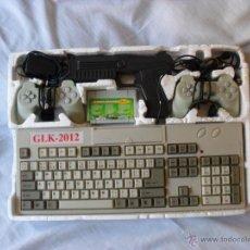 Videojuegos y Consolas: RARA GLK-2012 FUCIONANDO CON TODOS LOS ACCESORIOS,VIDEOCONSOLA. Lote 49528832