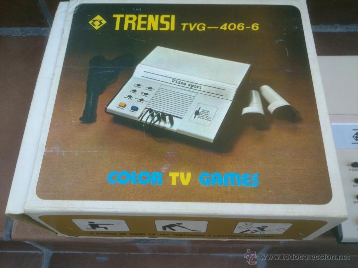 VIDEO CONSOLA TRENSI RARISIMA.1978 (Juguetes - Videojuegos y Consolas - Otros descatalogados)