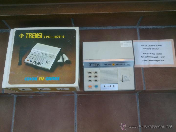 Videojuegos y Consolas: VIDEO CONSOLA TRENSI RARISIMA.1978 - Foto 6 - 49987283