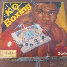 Videojuegos y Consolas: MAQUINA PORTATIL JUEGO K.O. BOXING MADE IN JAPAN - NO NINTENDO. Lote 50080657