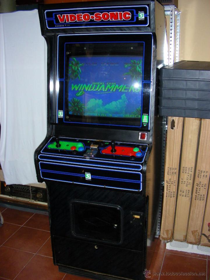 Maquina Arcade Video Sonic De Sala Recreativa D Comprar