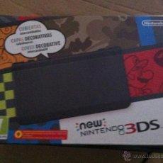 Videojuegos y Consolas: CAJA VACIA, CON INTERIORES, NEW NINTENDO 3DS CAJA NEGRA. Lote 51347396
