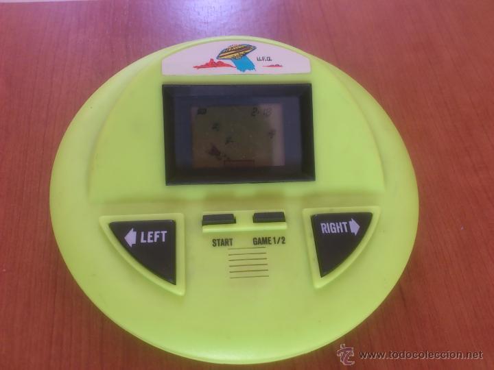 HANDHELD MAQUINITA TIPO GAME & WATCH UFO FUTBOL (Juguetes - Videojuegos y Consolas - Otros descatalogados)