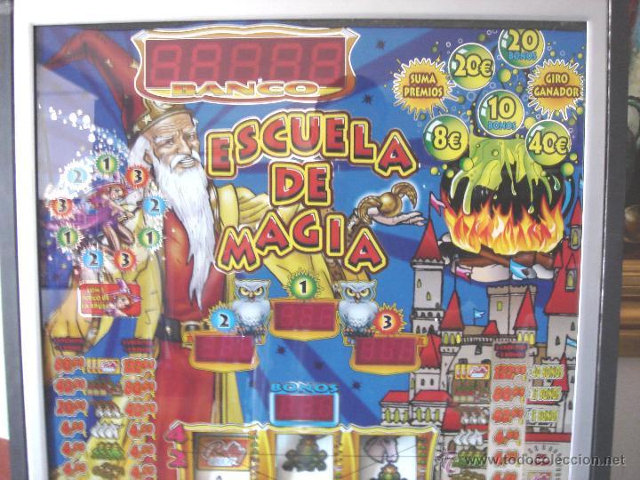 Videojuegos y Consolas: MAQUINA TRAGAPERRAS DOS ALTURAS - ESCUELA DE MAGIA AÑOS 90 ¡¡ FUNCIONANDO EN EUROS ¡¡ RECREATIVA - Foto 3 - 51595239