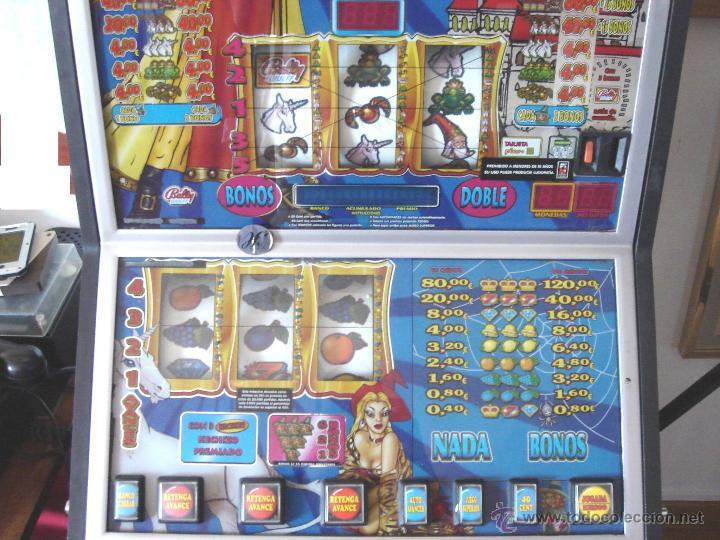 Videojuegos y Consolas: MAQUINA TRAGAPERRAS DOS ALTURAS - ESCUELA DE MAGIA AÑOS 90 ¡¡ FUNCIONANDO EN EUROS ¡¡ RECREATIVA - Foto 4 - 51595239