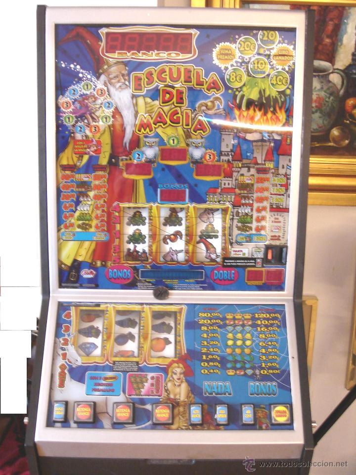 Videojuegos y Consolas: MAQUINA TRAGAPERRAS DOS ALTURAS - ESCUELA DE MAGIA AÑOS 90 ¡¡ FUNCIONANDO EN EUROS ¡¡ RECREATIVA - Foto 5 - 51595239