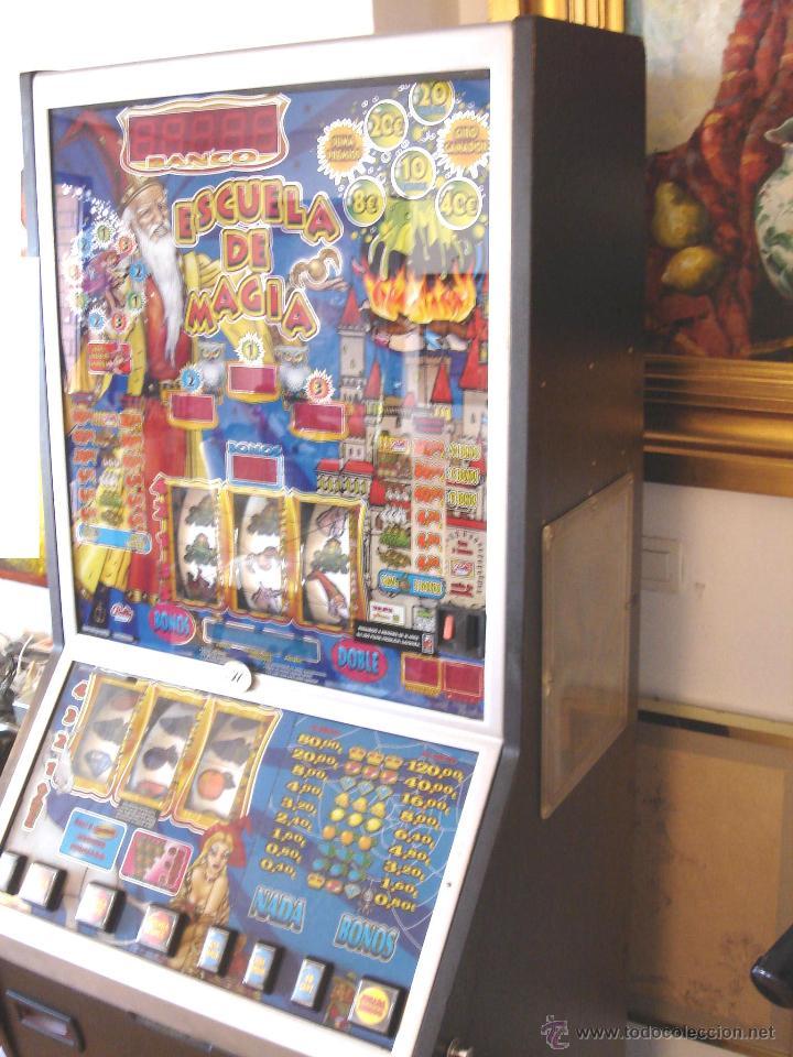 Videojuegos y Consolas: MAQUINA TRAGAPERRAS DOS ALTURAS - ESCUELA DE MAGIA AÑOS 90 ¡¡ FUNCIONANDO EN EUROS ¡¡ RECREATIVA - Foto 7 - 51595239