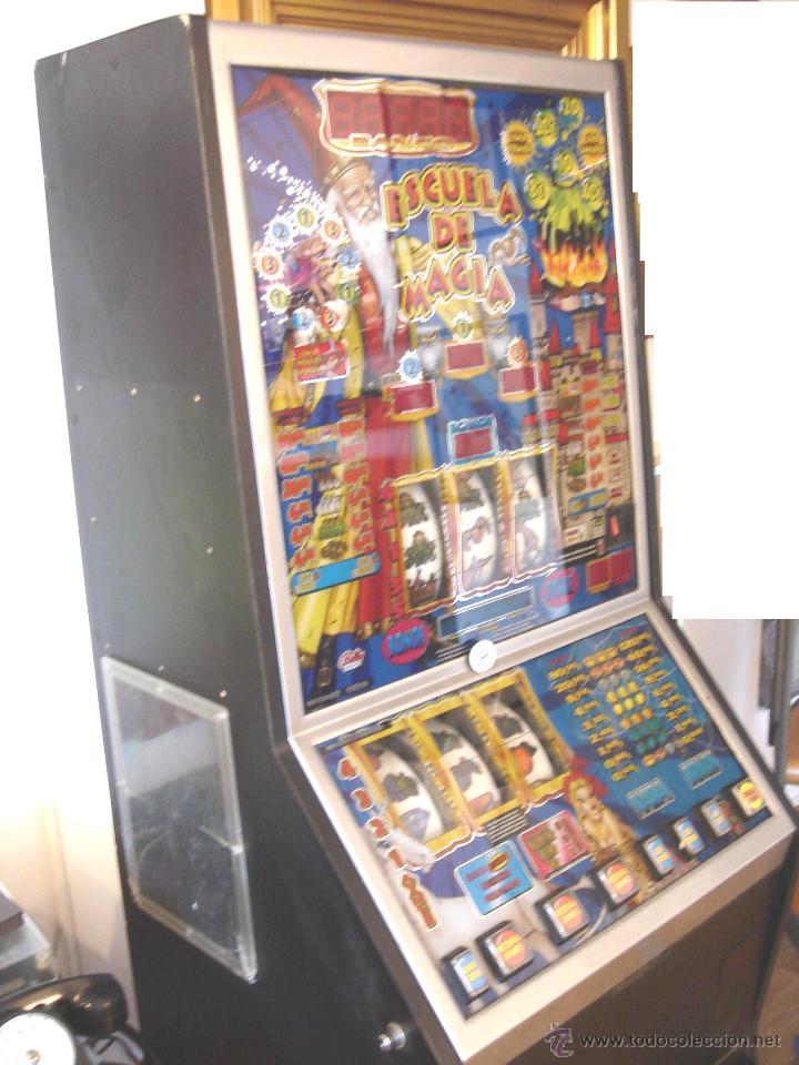 Videojuegos y Consolas: MAQUINA TRAGAPERRAS DOS ALTURAS - ESCUELA DE MAGIA AÑOS 90 ¡¡ FUNCIONANDO EN EUROS ¡¡ RECREATIVA - Foto 9 - 51595239