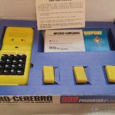 Videojuegos y Consolas: MICRO CEREBRO BIT BIT - AÑO 1980 - MARCA ELECAN - FABRICADO EN ESPAÑA ( SANTANDER). Lote 51609609
