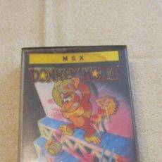 Videojuegos y Consolas: M69 JUEGO DE DONKEY KONG PARA MSX EN CINTA. Lote 51782443