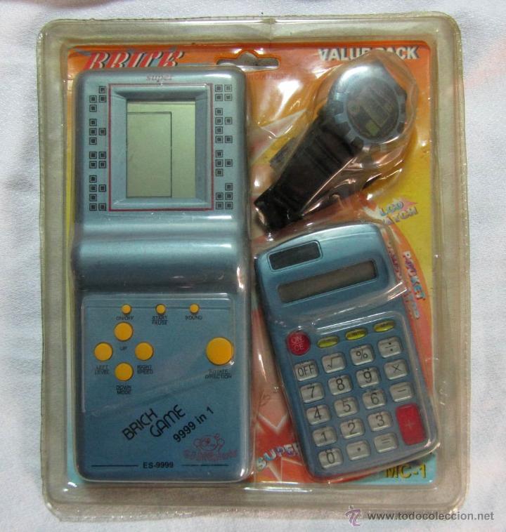 Game Brik Consola Consola 9999Calculadora Reloj rdshtQ