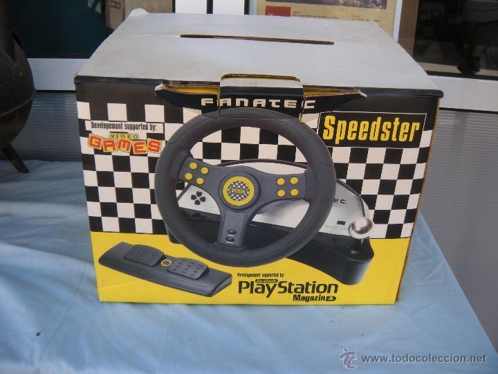 Videojuegos y Consolas: SPEEDSTER PLAY STATION PLAYSTATION FANATEC - Foto 2 - 52282429