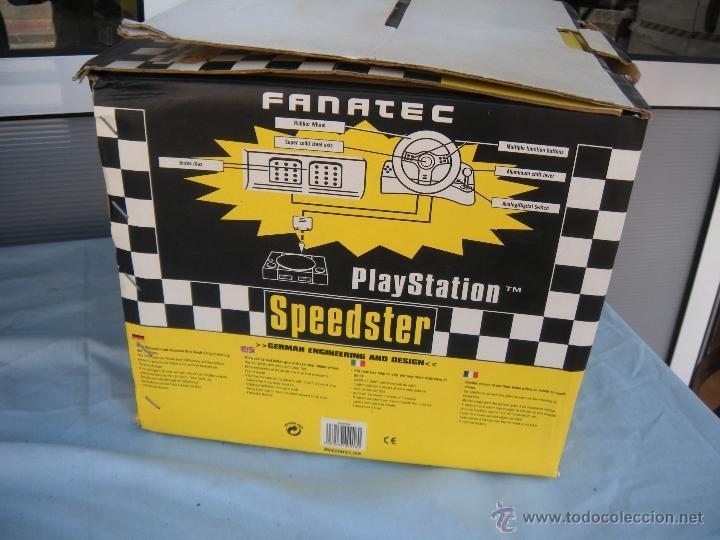 Videojuegos y Consolas: SPEEDSTER PLAY STATION PLAYSTATION FANATEC - Foto 3 - 52282429