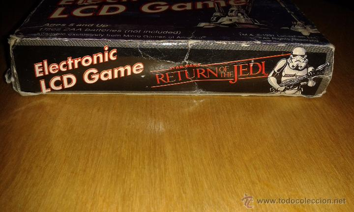 Videojuegos y Consolas: MICRO GAMES OF AMERICA STAR WARS RETURN OF THE JEDI - Foto 3 - 52539900