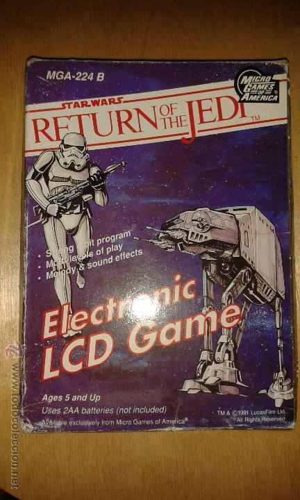 MICRO GAMES OF AMERICA STAR WARS RETURN OF THE JEDI (Juguetes - Videojuegos y Consolas - Otros descatalogados)
