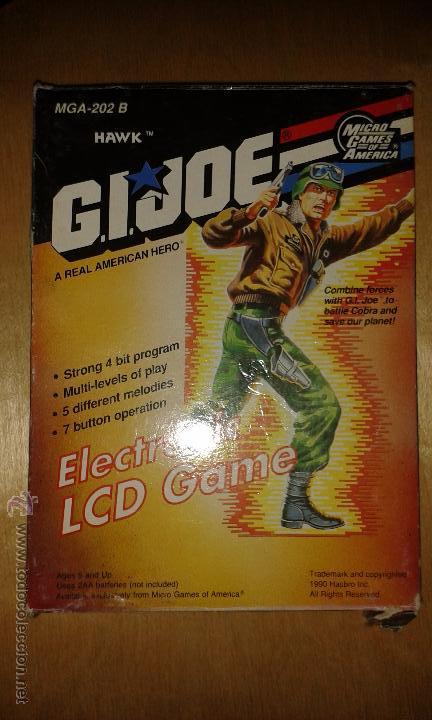 MICRO GAMES OF AMERICA HAWK G.I.JOE (Juguetes - Videojuegos y Consolas - Otros descatalogados)