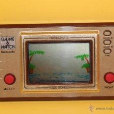 Videojuegos y Consolas: NINTENDO GAME & WATCH PARACHUTE WIDESCREEN- PR-21- AÑO 1981- FUNCIONA. Lote 52617898