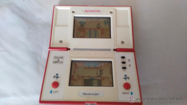 GAME WATCH DE NINTENDO BOMB SWEEPER SAFEBUSTER FUNCIONANDO OK (Juguetes - Videojuegos y Consolas - Otros descatalogados)