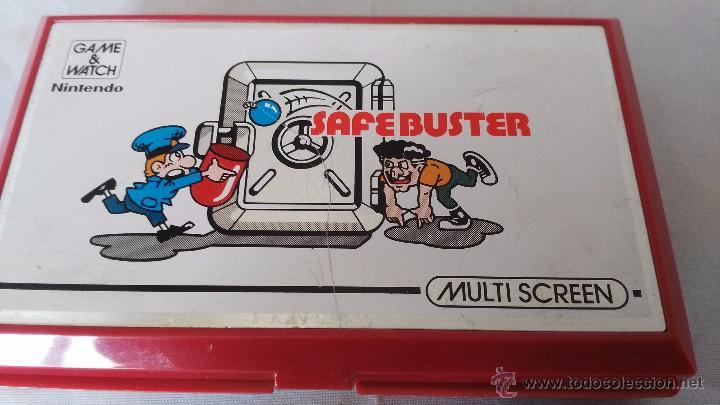 Videojuegos y Consolas: game watch de nintendo bomb sweeper safebuster funcionando ok - Foto 6 - 52725362