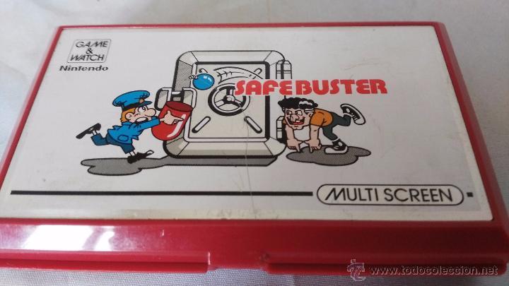 Videojuegos y Consolas: game watch de nintendo bomb sweeper safebuster funcionando ok - Foto 7 - 52725362