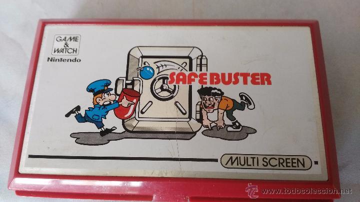 Videojuegos y Consolas: game watch de nintendo bomb sweeper safebuster funcionando ok - Foto 8 - 52725362