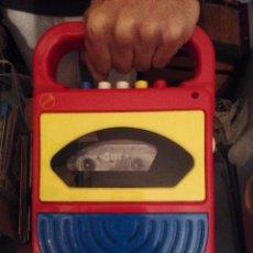 Videojuegos y Consolas: REPRODUCTOR INFANTIL DE CASETE TIPO CARAOKE. Lote 53159161
