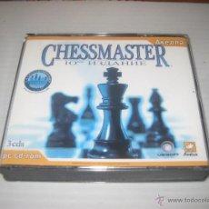 Videojuegos y Consolas: 3 CDS AJEDREZ,CHESMASTER 2004/05 RUSO. Lote 53227910