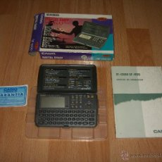 Videojuegos y Consolas: AGENDA ELECTRONICA CASIO DIGITAL DIARY SF-4600. Lote 53288637