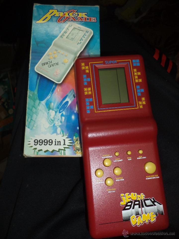 Consola Portatil Video Juegos Tetris Brick Game Comprar