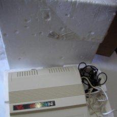 Videojuegos y Consolas: ANTIGUA CONSOLA DRAGON 32 MADE IN ENGLAND NUEVA SIN USAR CABLEADO DIVERSO, TRANSFORMADOR Y CORCHO. Lote 53405745