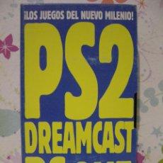 Videojuegos y Consolas: PS2 *** DREAMCAST *** PS ONE *** N64 *** LOS JUEGOS DEL NUEVO MILENIO *** VHS VIDEOJUEGOS ***. Lote 53533998