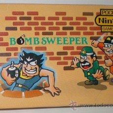 Videojuegos y Consolas: BOMB SWEEPER [NINTENDO CO.LTD] 1987 MULTIPANTALLA GAME WATCH BD-62 POCKETSIZE MULTI SCREEN. Lote 53646815