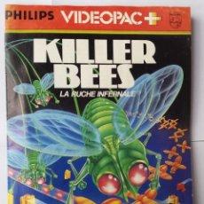 Videojuegos y Consolas: KILLER BEES (LA RUCHE INFERNALE). PHILIPS VIDEOPAC #52. JUEGO CONSOLA RETRO (1983). VINTAGE. Lote 54146373