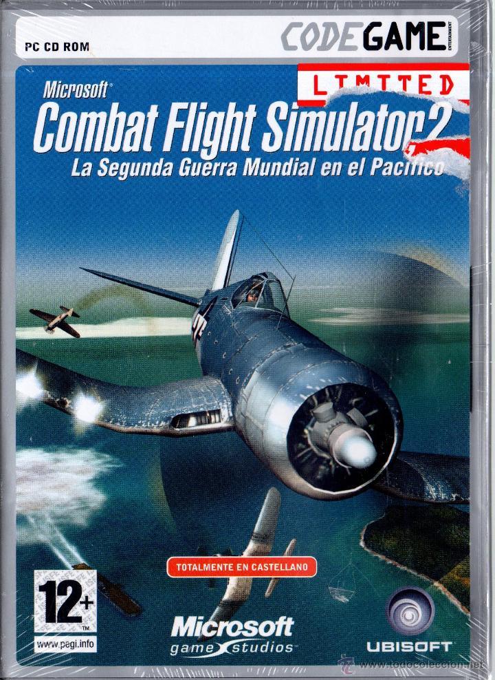 pc cd rom combat flight simulator 2 precintad - Sold through