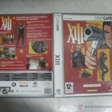 Videojuegos y Consolas: JUEGO PARA PC-CD-ROM DE ACCIÓN XIII CON 4 CDS PARA 34 NIVELES, 15 ARMAS Y 8 OBJETOS DE DEFENSA. Lote 54506759