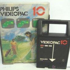 Videojuegos y Consolas: VIDEOJUEGO VIDEOPAC PHILIPS - GOLF N.10 ¡¡ COMPLETO ¡¡ AÑOS 80. Lote 54939523
