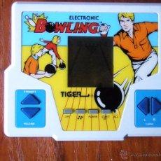 Videojuegos y Consolas: MAQUINA TIGER ELECTRONICS ELECTRONIC BOWLING 1987 FUNCIONANDO PERFECTA. Lote 54994544
